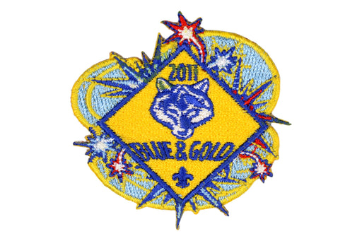 Blue and Gold Banquet Patch 2011