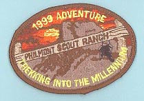 1999 Philmont Adventure Patch