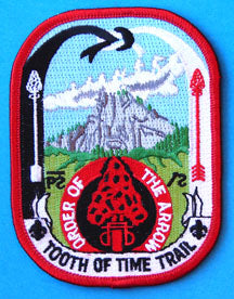 Philmont Tooth of Time Trail Patch