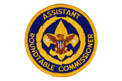 Assistant Roundtable Commissioner Patch 1970