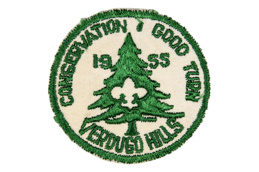 1955 Verdugo Hills Conservation Good Turn Patch