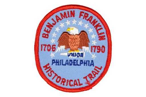 Benjamin Franklin Historical Trail Patch