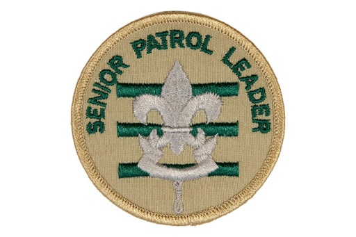Senior Patrol Leader Patch