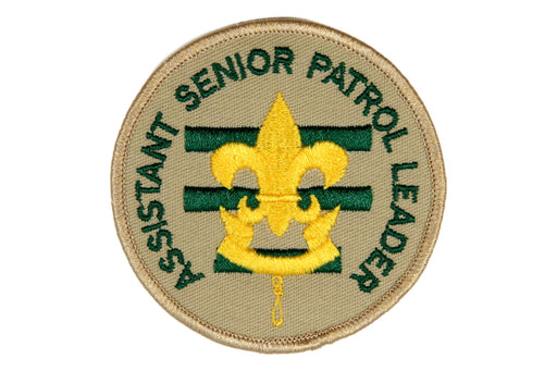 Assistant Senior Patrol Leader Patch