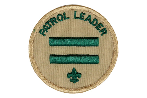 Patrol Leader Patch