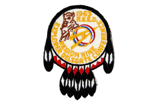 1965  Region Nine Explorer Delegate Patch