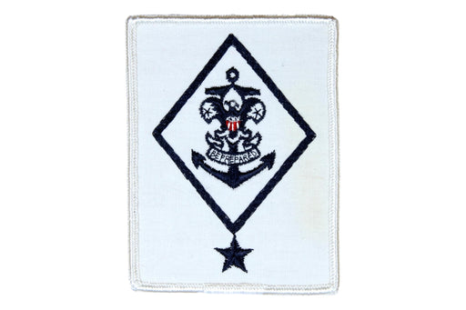 Sea Scout Ship Chairman Patch Rolled Edge