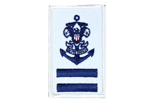 Sea Scout Ordinary Patch Rolled Edge