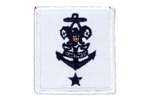 Sea Scout Skipper Patch Rolled Edge