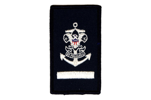 Sea Scout Apprentice Patch Blue Rolled Edge