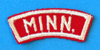 Minnesota Red and White State Strip