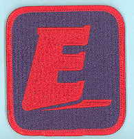 Explorer Universal Patch Fully Embroidered Blue
