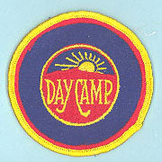Blazer Day Camp Patch Clear Plastic Back