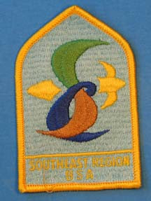 Southeast Region Patch Plastic Back