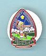 1986 Section W2A Conclave Pin Participant