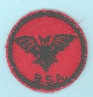 Bat R&B Twill PM Rubber Back