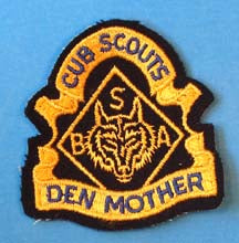 Den Mother Patch Felt
