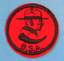 Baden Powell R&B Twill PM Rubber Back