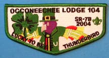 Lodge 104 Flap 2004 Conclave