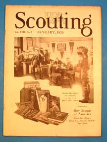 Scouting Magazine 1929 January