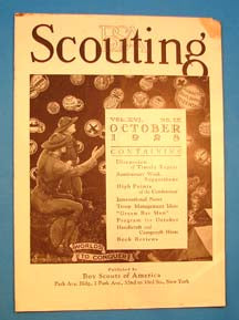 Scouting Magazine 1928 October