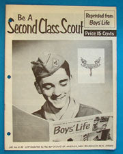 Be A Second Class Scout Boy's Life Reprint