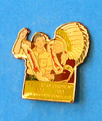 1988 Section W2A Conclave Participant Pin