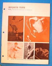 Boy's Life Reprint Sports Tips BL-49