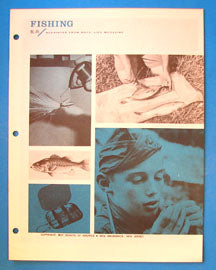 Boy's Life Reprint Fishing BL-45