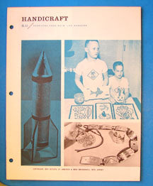 Boy's Life Reprint Handicraft BL-43