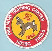 1994 Philmont Hiking Trails Patch