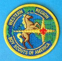 Western Region Patch YEL Border