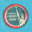 Pin Back I Own A Liberty Bond