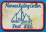 Kansas Sailing Center Post 826 Patch