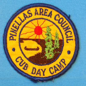 Pinellas Area Cub Day Camp Patch
