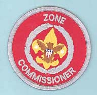 Zone Commissioner Patch