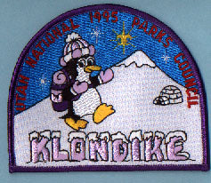 1995 Utah National Parks Klondike Derby Patch