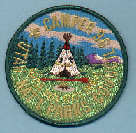 1996 Utah National Parks Camper OA Lodge 508 Service Patch