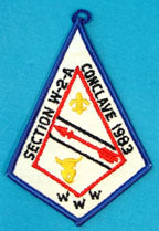 1983 Section W2A Conclave Patch