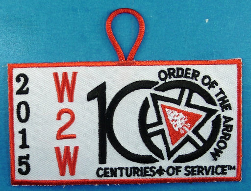 2015 Section W2W Conclave Patch Participant