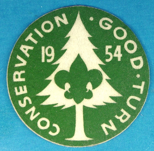 1954 Conservation Good Turn Camporee Patch