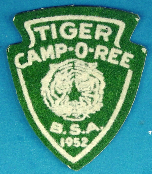 1952 Tiger Camp-O-Ree Patch