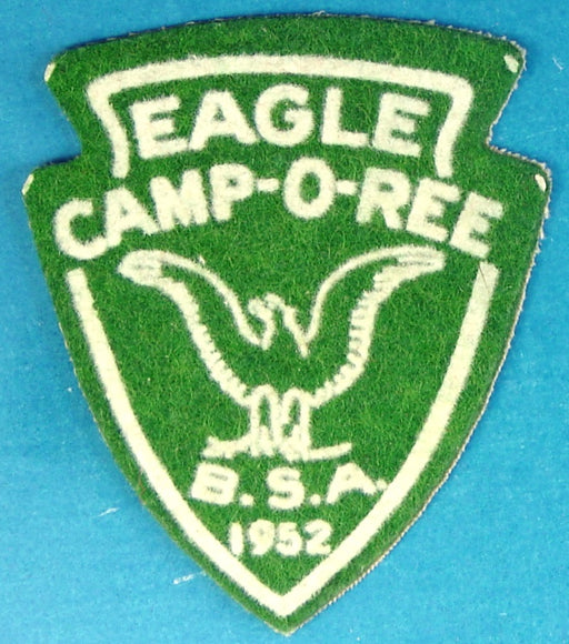 1952 Eagle Camp-O-Ree Patch