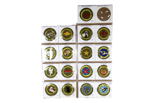 ! 1950s Merit Badge Collection 109 MBs (SOME MISSING)