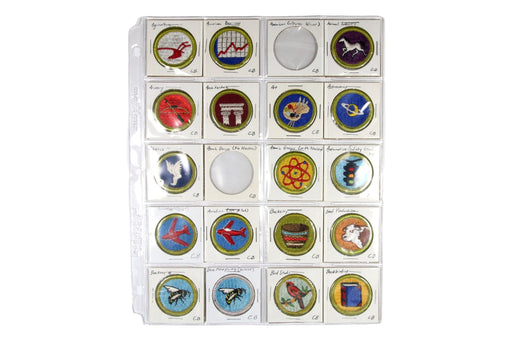 !1960s Cloth Back Merit Badge Collection 127 MBs