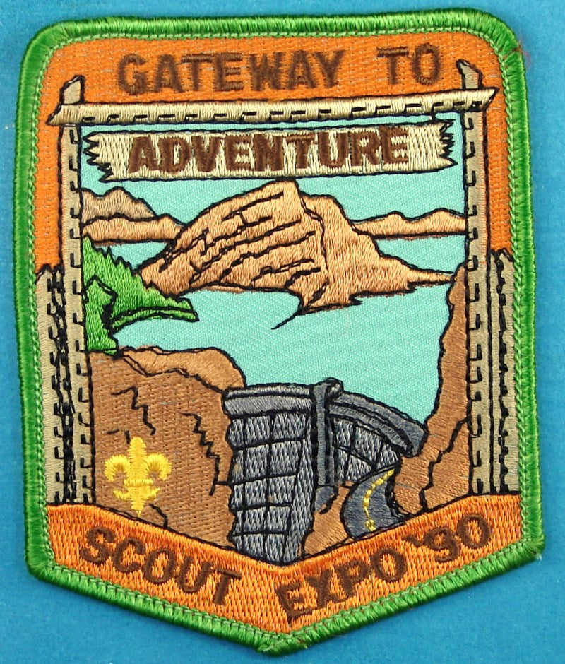 1990 Utah National Parks Scout Expo Patch