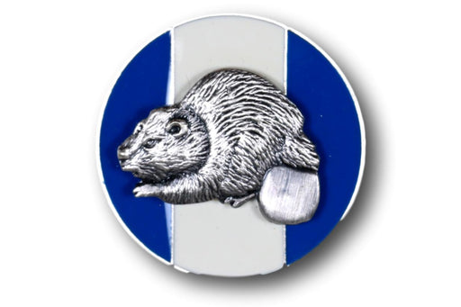 "Silver Beaver Association Pin 1"" Round"