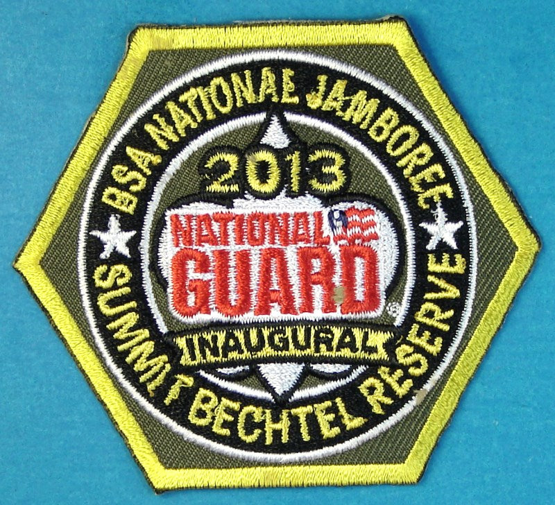 2013 NJ National Guard Patch