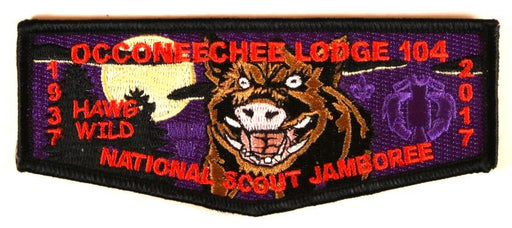 Lodge 104 Flap S-New 2017 NJ Purple Background