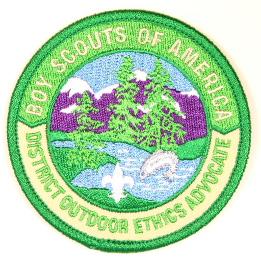 Leave No Trace District Outdoor Ethics Advocate Patch